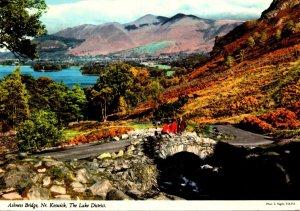 England Keswick The Lake District Ashness Bridge 1984