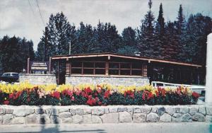 Information building, Kakabeka Falls Provincial Park, KAKABEKA FALLS, Ontario...