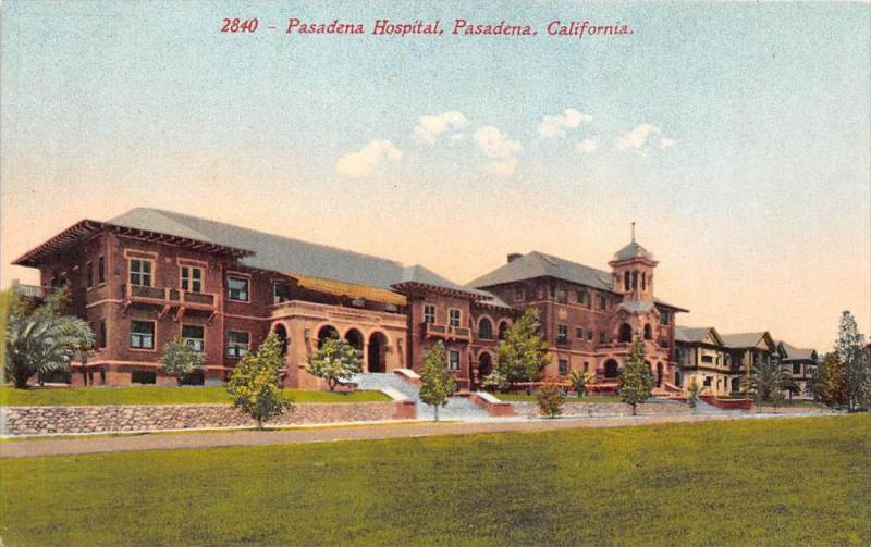 8358   CA Pasadena  Pasadena Hospital