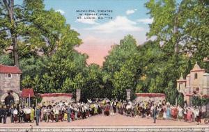 Municipal Theatre In Forest Park Saint Louis Missouri