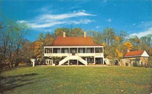 Tarrytown New York~Sleepy Hollow Restorations~1960 Postcard