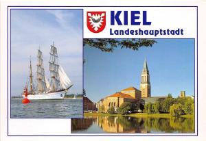 GG1633 kiel landeshauptstadt ship bateaux    germany