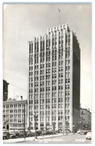 RPPC Financial Center Building, Oakland, CA Postcard c. 1939-1950