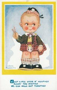 Boy in kilts , 1910s ; Vera Paterson