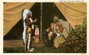 Famous People - Buffalo Bill and Chief Iron Tail