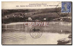 Entree Basins of Doubs - Lake Chaillexon - Old Postcard