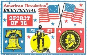 American Revolution Bicentennial 200 years Spirit of 1776-1976
