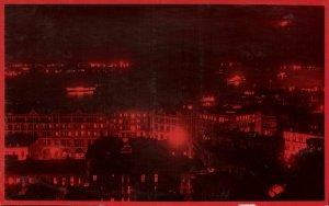 china, HONG KONG, Partial View by Night (1910s) Postcard
