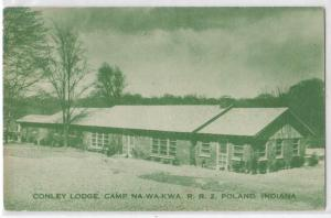 Conley Lodge, Camp Na-Wa-Kwa, Poland IN