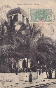 L'Eglise, Rufisque, Senegal, Africa, PU-1911
