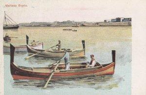 Boats - MALTA , 1901-07