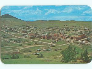 Pre-1980 AERIAL VIEW OF TOWN Cripple Creek Colorado CO n3263