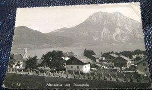 Germany bavaria Altmunster mit Traunstein - unposted