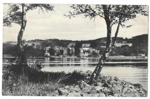 Bowness Bay From Birch Holme PPC, Windermere 1908 PMK to London by Valentines
