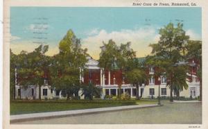 HAMMOND, Louisiana, PU-1945; Hotel Casa de Fresa