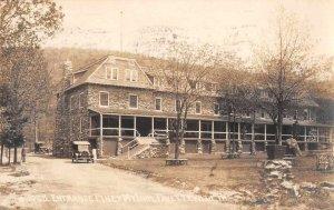 Fayetteville Pennsylvania Piney Mt Inn Laughlin Real Photo Postcard JJ658659