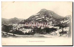 Old Postcard Panoramic view of St Claude