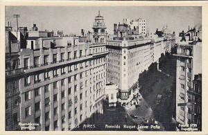 Avenida Roque Saenz Pena, Buenos Aires, Argentina, 1910-1920s