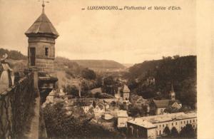 CPA Luxembourg Pfaffenthal et Vallée d'Eich (30749)