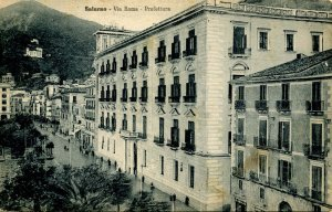 Italy - Salerno. Government Offices on Rome St.  (Passed Naval Censor)
