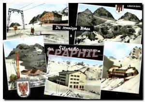 Postcard Modern Die sonnigen der hohen Siluretta