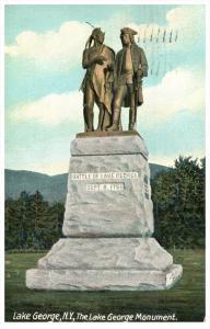 18945   NY Lake George  Battle Monument