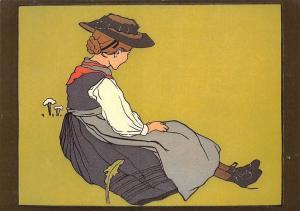 Marguerite Burnat-Provins Marion, Illustration
