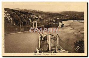 Old Postcard Pont Mirabeau Bridge