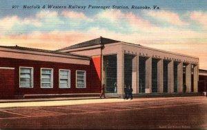 Virginia Roanoke Norfolk & Western Railway Passenger Station