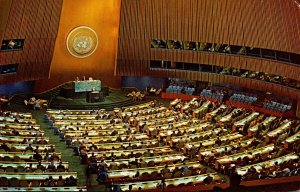 New York City United Nations General Assembly Hall 1962
