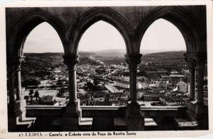 CPA Leiria- Castelo, a Cidade vista do Paco da Rainha Santa PORTUGAL (760823)