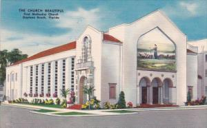 Florida Daytona Beach The Church Beautiful First Methodist Church 1953