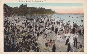 New York Rochester Scene Along Ontario Beach