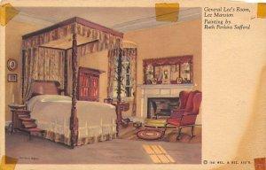 Gen. Lee's room Painting by Ruth Perkins Safford Civil War Unused
