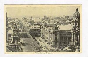 Aerial of City & Busy Street,Durban,South Africa 1900-10s