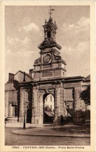 CPA PONTARLIER - Porte St-Pierre (486516)
