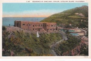 California Catalina Island Avalon Residence Of Zane Grey