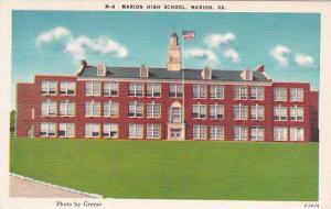 Virginia Marion Marion High School