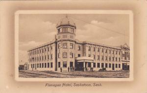 Flanagan Hotel (Exterior), Saskatoon, Saskatchewan, Canada, 1900-1910s