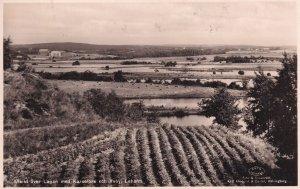 Laholm Sweden Swedish Vintage Landscape Real Photo Postcard