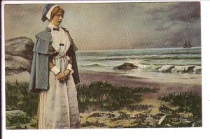 Evangeline, Departure of Gabriel, Tall Ship Grande Pre, Nova Scotia,