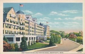 New Ocean House Hotel on Puritan Road - Swampscott MA, Massachusetts - Linen