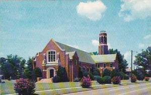 South Carolina Greenwood Callie Self Memorial Church And Carillon