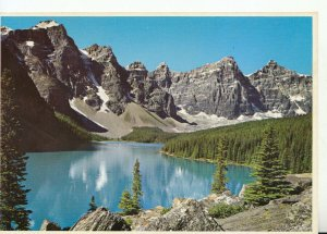 Canada Postcard - Moraine Lake - Banff National Park - Alberta - Ref 19005A