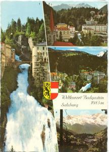 Austria, Weltkurort Badgastein, Salzburg, 1982 used Postcard