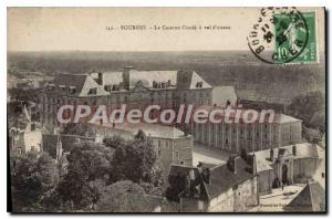 Postcard Old Barracks Bourges Cond