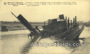 Ruins of Zeebrugge 1914-18 Belgium Unused