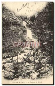 Old Postcard Tulle Surroundings Cascade of Gimel
