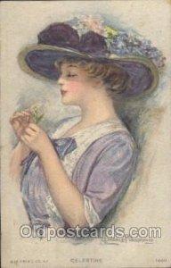 Artist Signed Clarence Underwood R.C. Co, 1440 1922 light corner wear close t...