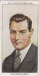 Wills Vintage Cigarette Card Radio Celebrities No 18 Reginald New